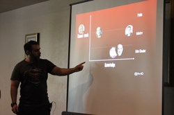 """At BSides, Malik presented a """"new magic quadrant for infosec professionals"""""""