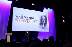 Art Coviello during his opening keynote address at RSA Europe 2013. All rights reserved by RSA Conference
