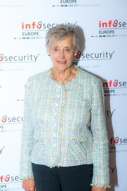 Dame Stella Rimington, speaking at Infosecurity Europe 2017