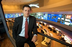 Ed Amoroso at AT&T's Global Network Operations Center in Bedminster, New Jersey