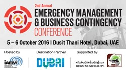 2nd Annual Emergency Management and Business Contingency Conference