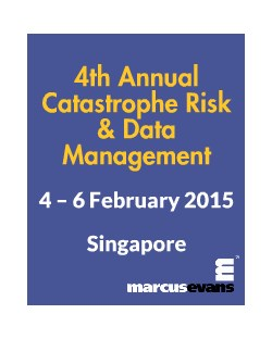 4th Annual Catastrophe Risk and Data Management