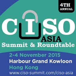 CISO Asia Summit & Roundtable 2015