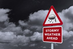 Stormy weather ahead