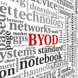 While BYOD is occurring in companies and governments of all sizes, Gartner found that is most prevalent in midsize and large organizations