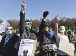 U.S. Indicts 13 Anonymous Members