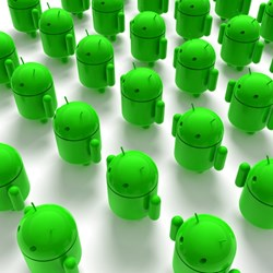 A Symantec researcher says Android users may have downloaded between 50,000 and 200,000 infected apps