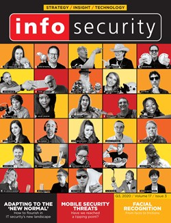 Infosecurity Magazine's Q3 2020 issue front cover