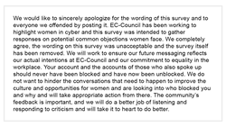 Figure 3: EC-Council issues an official statement