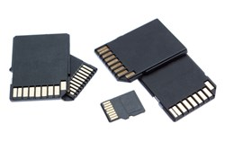 Some – if not the majority  – of SD cards contain an inexpensive microcontroller that can be accessed externally