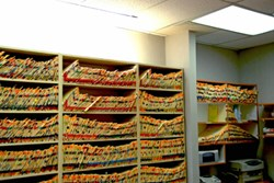 Transition to EHRs should makes scenes like this a thing of the past, but with them comes data security implications