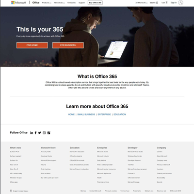 Fake Office 365 Site