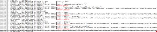 Firewall modifications