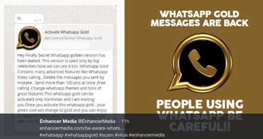 Don't Fall for the WhatsApp Gold Scam - Infosecurity Magazine