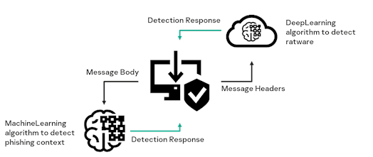 The process of the email phishing detection technology