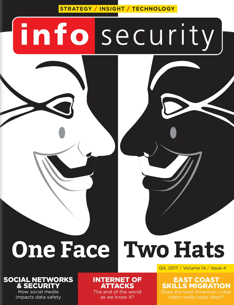 Infosecurity Magazine, Digital Edition, Q4, 2017, Volume 14, Issue 4