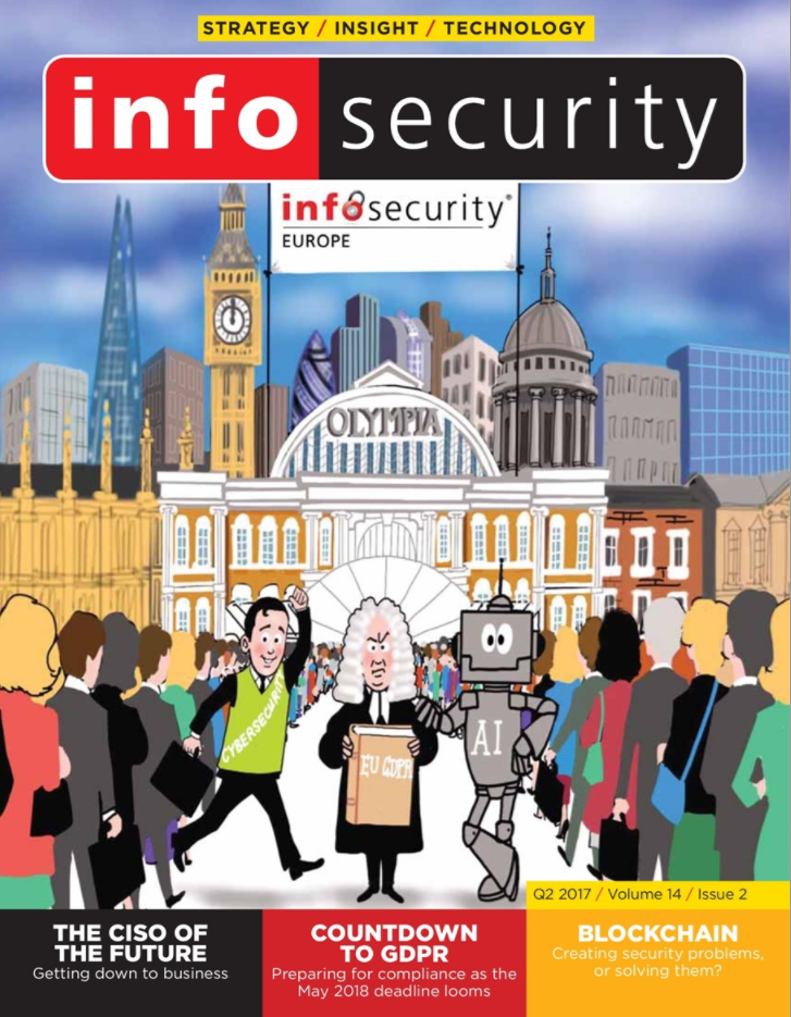 Infosecurity Magazine, Digital Edition, Q2, 2017, Volume 14, Issue 2